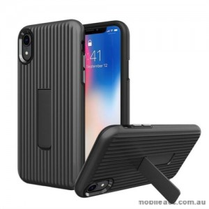 Luggage Case with Kickstand Shockproof Heavy Duty Case Cover For Iphone XS MAX  6.5'  BLK