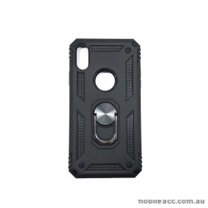 Anti Shock with Magnet Stand case for Iphone XR 6.1' BLK