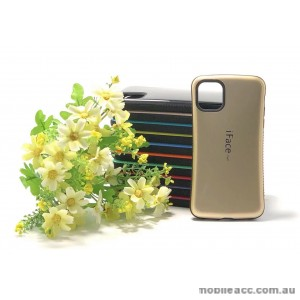 IfaceMall  Anti-Shock Case for iPhone 11 Pro 5.8'  Gold