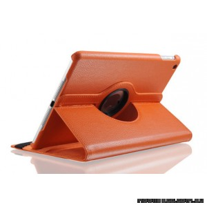 360 Degree Rotary Flip Case for New Ipad 9.7  2018  Orange
