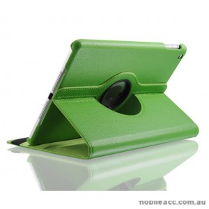 360 Degree Rotary Flip Case for New Ipad 9.7  2018  Green
