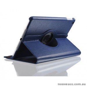 360 Degree Rotary Flip Case for New Ipad 9.7  2018  Blue