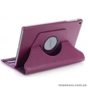 360 Degree Rotary Flip Case for New Ipad 9.7  2018  Purple