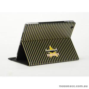 NRL Licensed North Queensland Cowboys Wallet Case for iPad Mini 1 2 3