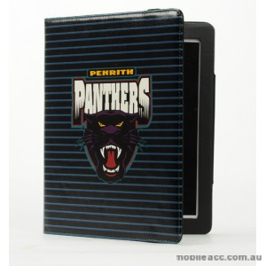 NRL Licensed Penrith Panthers PU Leather Case for iPad 2/3/4