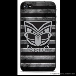 NRL Licensed New Zealand Warriors Grunge Back Case for iPhone 4/4S