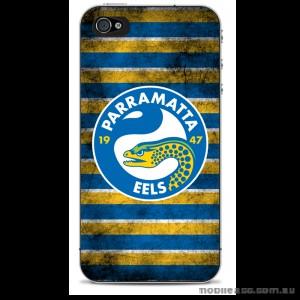 NRL Licensed Parramatta Eels Grunge Back Case for iPhone 4/4S