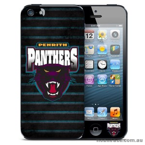 NRL Licensed Penrith Panthers Grunge Back Case for iPhone 5/5S