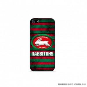 NRL Licensed South Sydney Rabbitohs Grunge Back Case for iPhone 5/5S