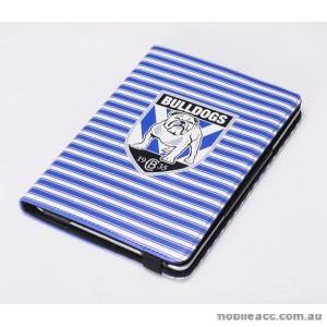 NRL Licensed Canterbury Bankstown Bulldogs PU Leather Case iPad Mini 1 2 3