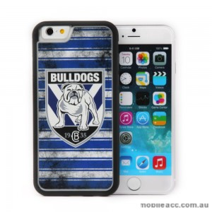 Licensed NRL Canterbury Bulldogs Back Case for iPhone 6/6S - Grunge