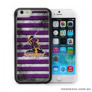 Licensed NRL Melbourne Storm Back Case for iPhone 6/6S - Grunge