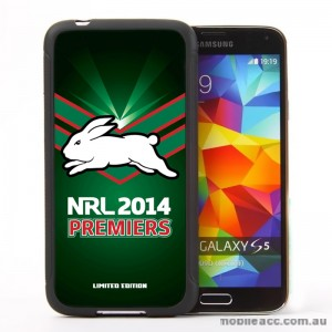 NRL Licensed 2014 Premier South Sydney Rabbitohs Case for Samsung Galaxy S5