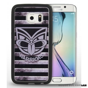 Licensed NRL New Zealand Warriors Grunge Jersey TPU 3D Case for Samsung Galaxy S6 Edge