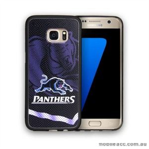 Licensed NRL Penrith Panthers Grunge Jersey TPU PC 3D Case for Samsung Galaxy S7 Edge