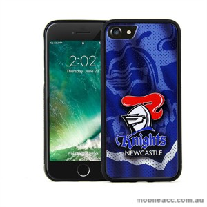 Licensed NRL Newcastle Knights Grunge Jersey TPU PC 3D Case For iPhone 7 Plus