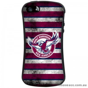 NRL Licensed Manly Warringah Sea Eagles iFace Shockproof Case for iPhone 5/5S