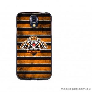 NRL Licensed Wests Tigers Grunge Back Case for Samsung Galaxy S4