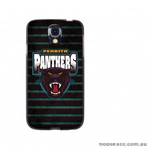 NRL Licensed Penrith Panthers Grunge Back Case for Samsung Galaxy S4