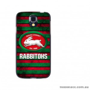NRL Licensed South Sydney Rabbitohs Grunge Back Case for Samsung Galaxy S4