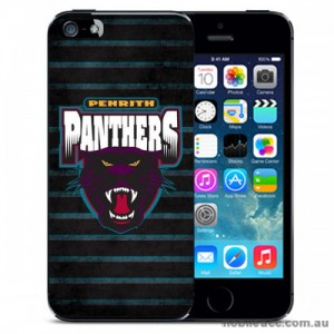NRL Licensed Penrith Panthers Grunge Back Case for iPhone 5C