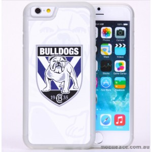 Licensed NRL Canterbury Bankstown Bulldogs Case for iPhone 6/6S - White