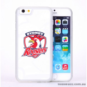 Licensed NRL Sydney Roosters Back Case for iPhone 6/6S - White