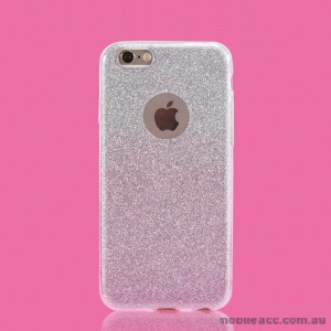 Bling Simmer TPU Gel Case For iPhone 6/6S - Silver