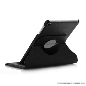 360 Degree Rotary Flip Case for Samsung Tab A 8.0  T290  BLK