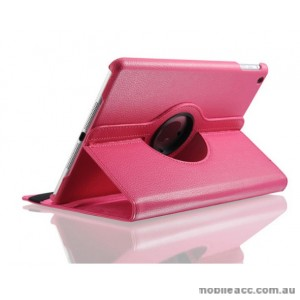 360 Degree Rotary Flip Case for Samsung Tab A 10.1 T510  Hotpink