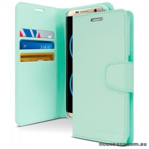 Korean Mercury Sonata Wallet Case For Note 10 Plus  Mint Green