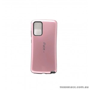ifaceMall  Anti-Shock Case For Samsung Note 20  6.7inch  Rose Gold