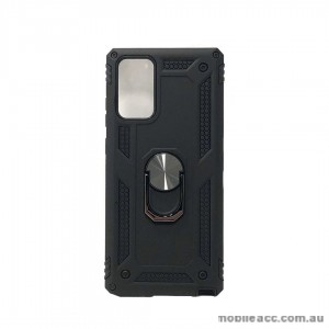 Anti Shockproof Heavy Duty With Stand With Magnet Case For SAM Note 20  Black