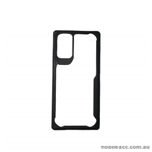2M Anti Shock Heavy Duty TPU PC Case Cover For Samsung Note 20 Ultra  Black