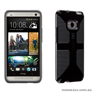 Genuine Speck Candyshell Grip Case for HTC One M7 - Black