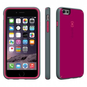 Speck MightyShell iPhone 6/6S Plus Cases Fuchsia Pink/Cupcake Pink/Heritage Grey