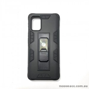 Anti Shockproof Heavy Duty With Stand With Magnet Case For Samsung  S20 FE 5G Black