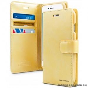 Mercury Goospery Blue Moon Diary Wallet Case For Samsung S20 FE 5G  Gold