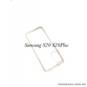 Hana Soft Feeling Jelly Case For Samsung S20 6.2 inch  Clear