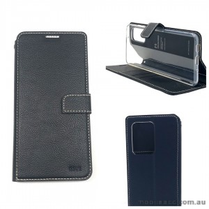 Genuine Molancano ISSUE Diary Stand Wallet Case For Samsung S20 6.2 inch   Black