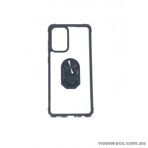 Anti Shockproof Heavy Duty With Stand With Magnet Case For Samsung A52 5G  Clear