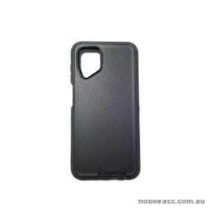 Anti Shockproof Heavy Duty  Case For Samsung A12  Black