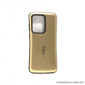 IfacMall  Anti-Shock Case For Samsung S20 Ultra 6.9 inch   Gold