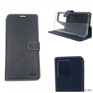 Genuine Molancano ISSUE Diary Stand Wallet Case For Samsung S20 Ultra 6.9 inch  Black