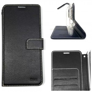 Genuine Molancano ISSUE Diary Stand Wallet Case For Samsung A21S  Black