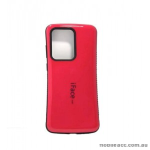 ifacMall Anti-Shock Case For Samsung S21 Ultra 6.8 inch  Hotpink