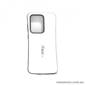 ifacMall Anti-Shock Case For Samsung S21 Ultra 6.8 inch  White