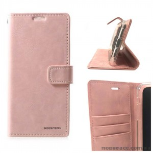 Mercury Goospery Blue Moon Diary Wallet Case For Samsung S21 Plus 5G  Rose Gold