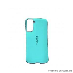ifacMall Anti-Shock Case For Samsung S21 Plus 6.7 inch  Aqua