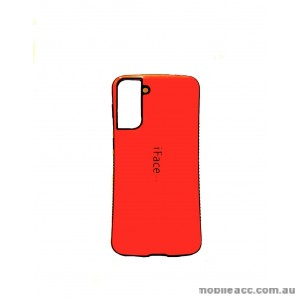 ifacMall Anti-Shock Case For Samsung S21 6.2 inch  Red